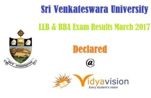 SVU LLB/BBA Results