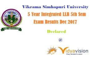 VSU LLB Results