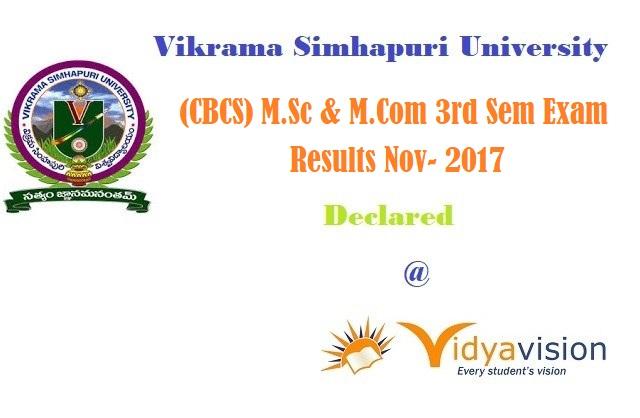 VSU PG Results