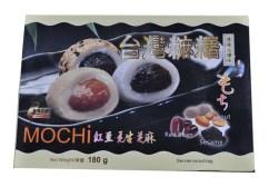 Mochi kulki ryżowe z orzeszkami ziemnymi, sezamem i czerwoną fasolą fasola 180 g Wasabi Sushi Shop Wrocław azjatycki sklep z produktami i akcesoriami do sushi i kuchni orientalnej