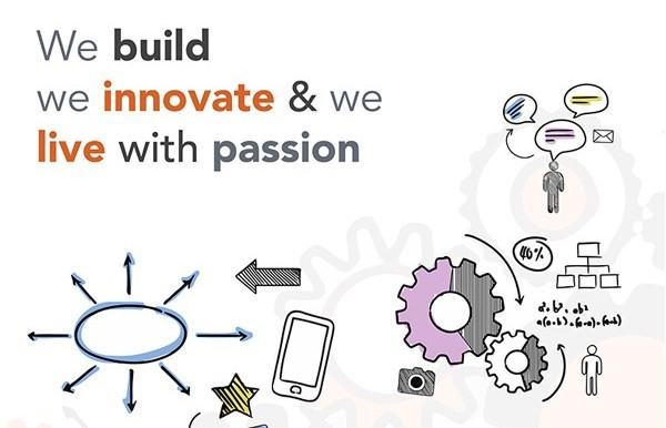 We build, we innovate and we live with passion