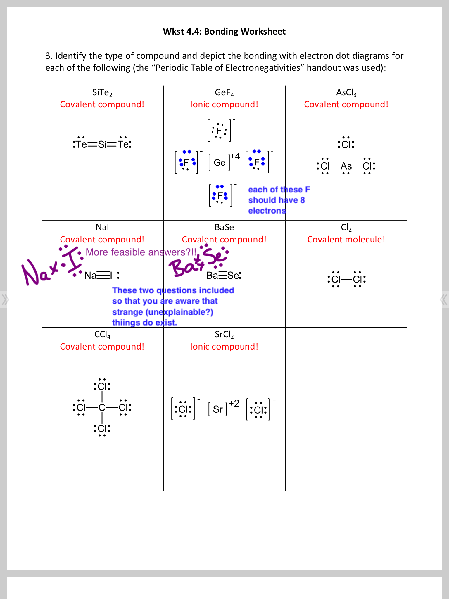 Chem 11 Vsepr Molecule Shapes