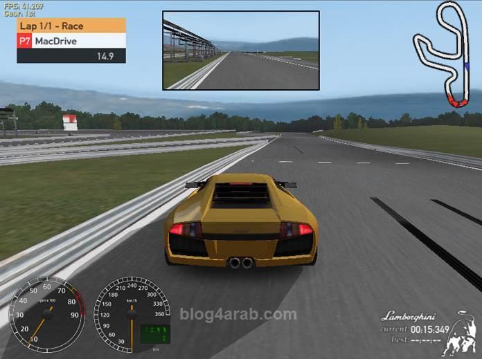 تحميل اقوى العاب السيارات للكمبيوتر برابط واحد وسريع Racer RC8
