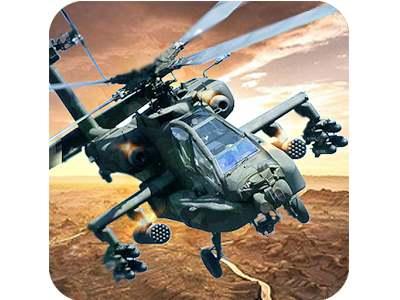 تحميل لعبة الطيران الحربي طائرات هليكوبتر مجانا للاندرويد Gunship Helicopter