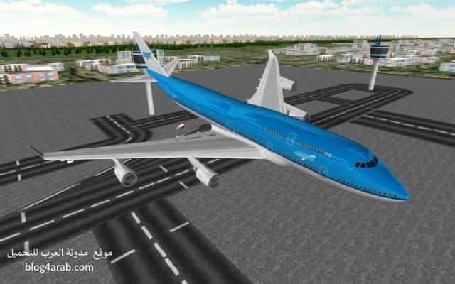 تحميل لعبة قيادة الطائرة من الداخل للاندرويد مجانا Fly Plane