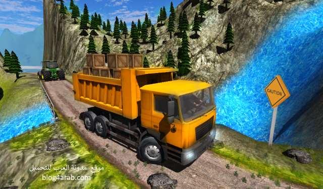 تحميل لعبة قيادة الشاحنات للاندرويد