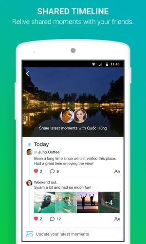 تحميل برنامج المكالمات بالصوت والصورة عبر الانترنت مجانا Zalo