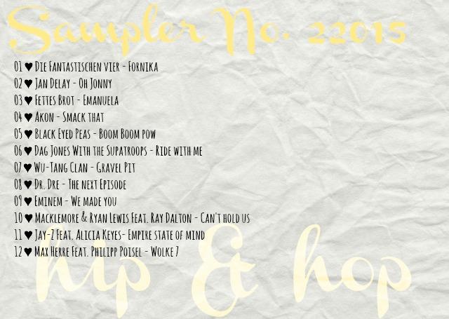 4more Sampler 22015 hip&hop