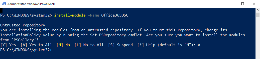Office365 and PowerShell DSC? Whats this all about