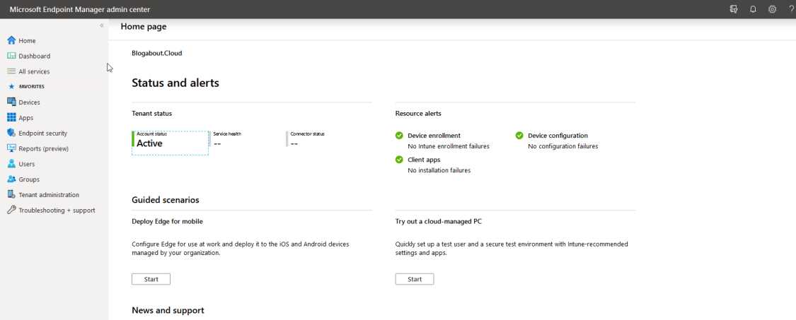Removing the need for Windows Group Policies using the capability of the Microsoft Cloud.