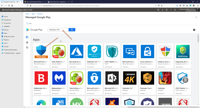 Deploy Microsoft Defender ATP for your Android devices