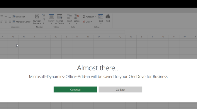 Deploying Microsoft Dynamics Office Add-in from Centralized deployment