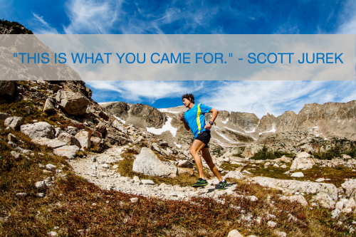 Scott Jurek This is What You Came For quote