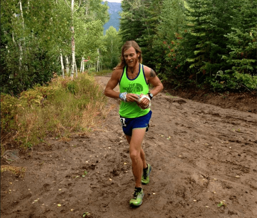 Timothy Olson at Run Rabbit Run 100