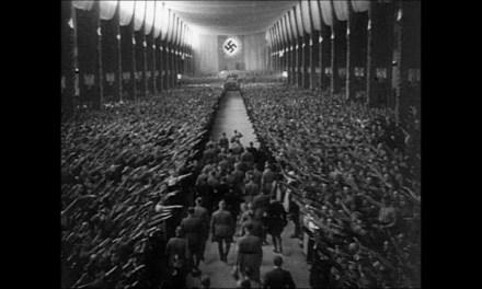 'El Triunfo de la Voluntad' de Leni Riefenstahl, atroz belleza