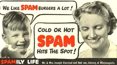 El spam es una verdadera mina de buenos nombres de personajes