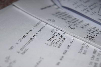 Páginas del guión