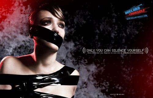 Jessica Alba, imagen de la campaña Declare Yourself