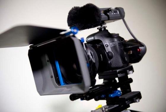 La cámara cubierta de parafernalia