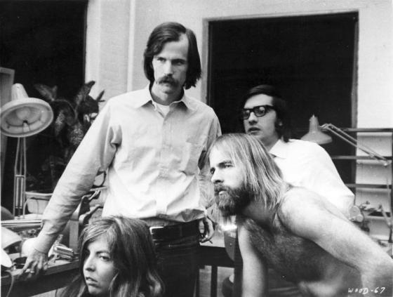 Thelma Schoonmaker y Martin Scorsese, en la sala de edición de Woodstock