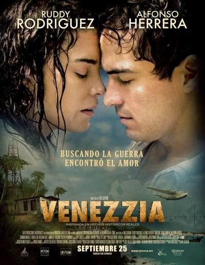 Ruddy Rodríguez y Alfonso Herrera protagonizan Venezzia