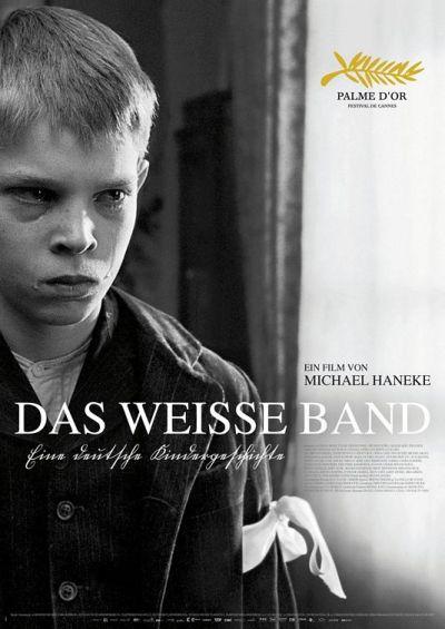 Póster de Das weiße Band, de Michael Haneke
