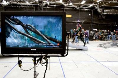 El set real y la realidad virtual en función de la puesta en escena