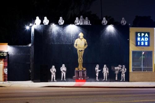 Banksy rinde ¿homenaje? al Oscar