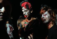 Zombis en San Antonio de los Baños, la víspera de Halloween