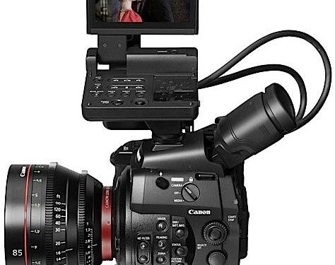 Canon C300, con C de Cine
