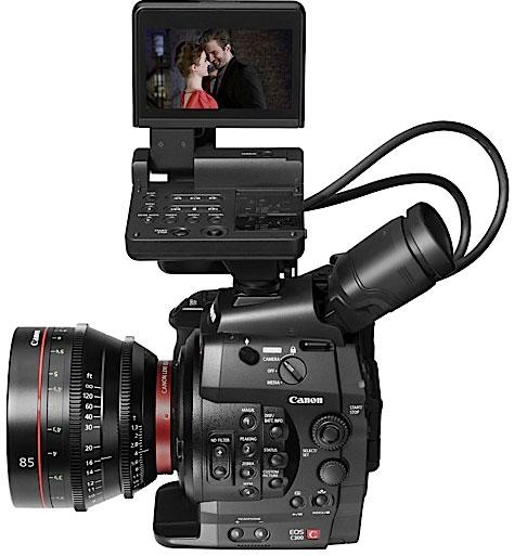 Canon C 300, nada que envidiarle al cine