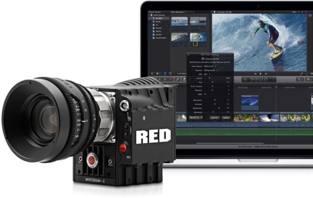 Final Cut Pro X ahora es compatible con Red RAW