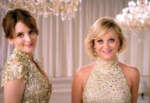 Las comediantes Tina Fey y Amy Poehler, presentadoras de los Golden Globes Awards 2013