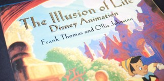 12 principios de la animación recogidos en el libro The Illusion of life