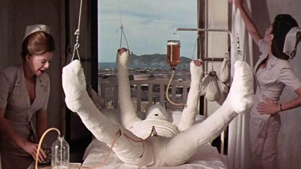 El Hombre Blanco, Catch 22 de Mike Nichols