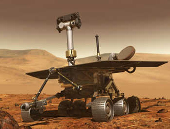 Il Rover Spirit [credit: NASA]