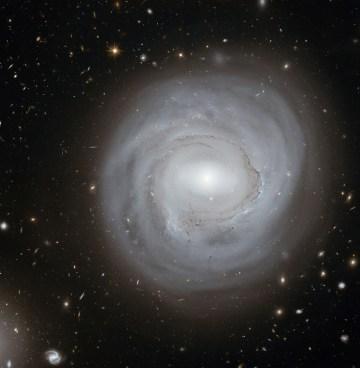 La galassia NGC 4921 (credit: NASA, ESA e K. Cook)