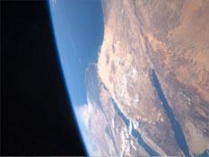 La Terra vista dall'Atlantis (credit: NASA.gov)