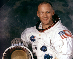 Buzz Aldrin (credit: nasa.gov)