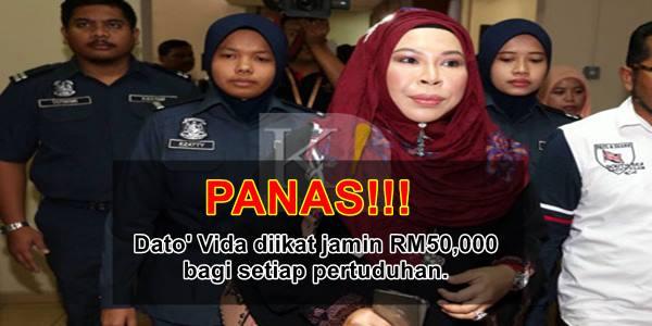 Datuk Seri Vida Mengaku Tidak Bersalah