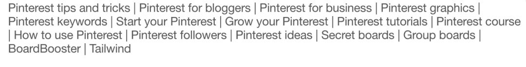 how to spring clean your pinterest account board descriptions