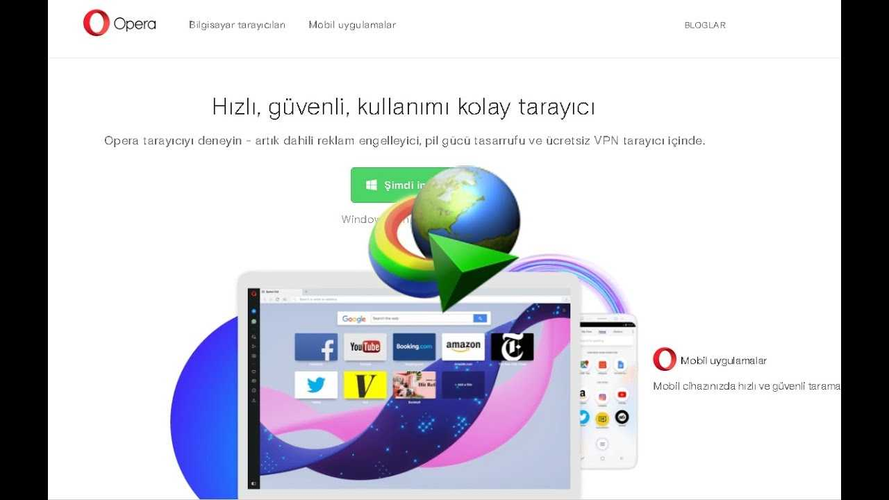 opera tarayıcıya idm eklentisi ekleme kurulum entegrasyon internet download manager