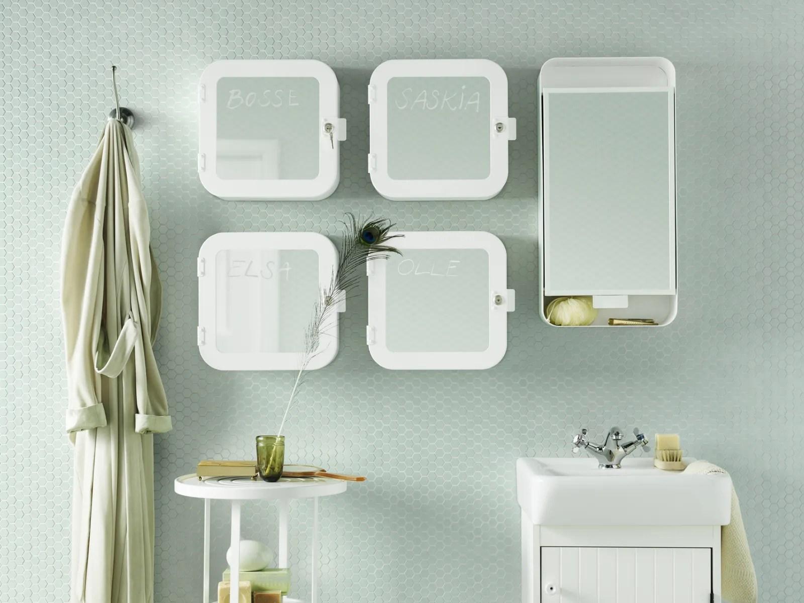 Tante idee per arredare con stile il tuo bagno. Ikea Pensili Per Arredi Funzionali