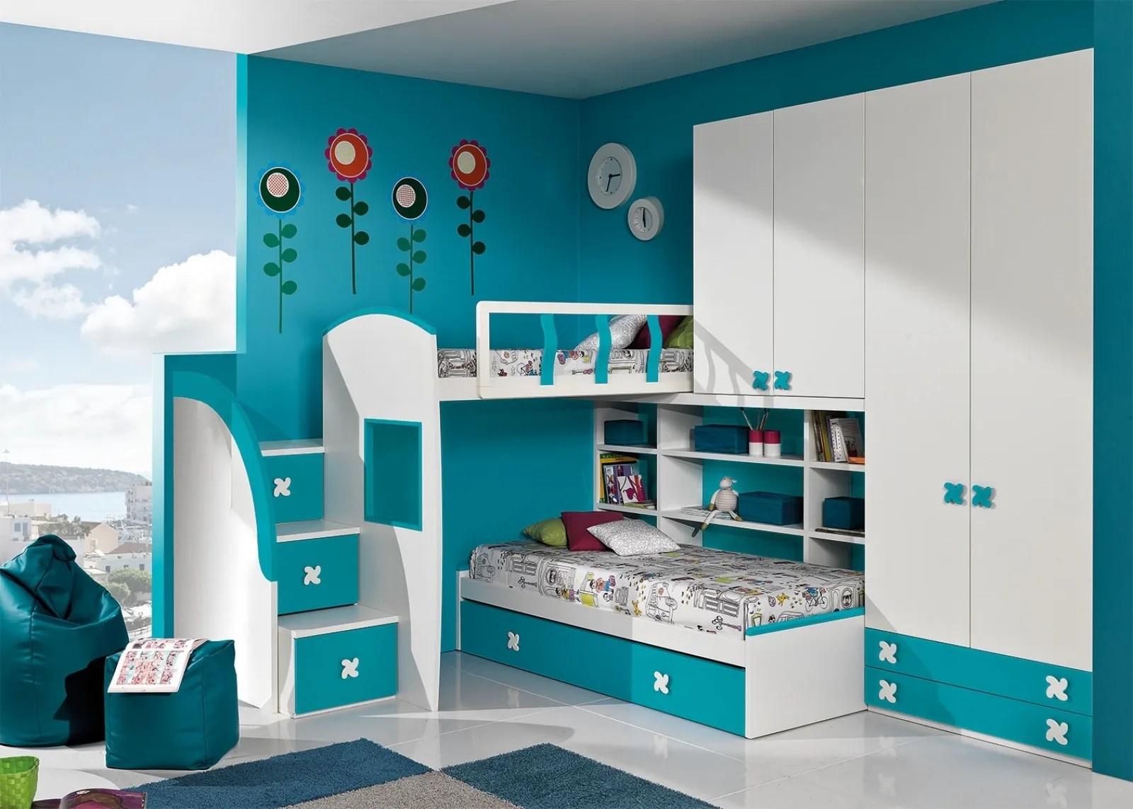 10 camerette nelle sfumature del blu casafacile. Giessegi Camerette Soluzioni Moderne