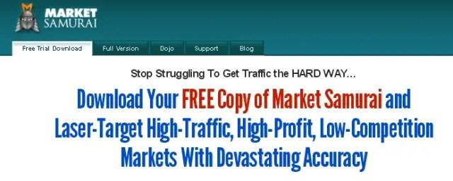 Logiciel de Marketing gratuit Market Samurai
