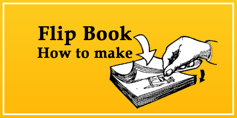 flip book how to make