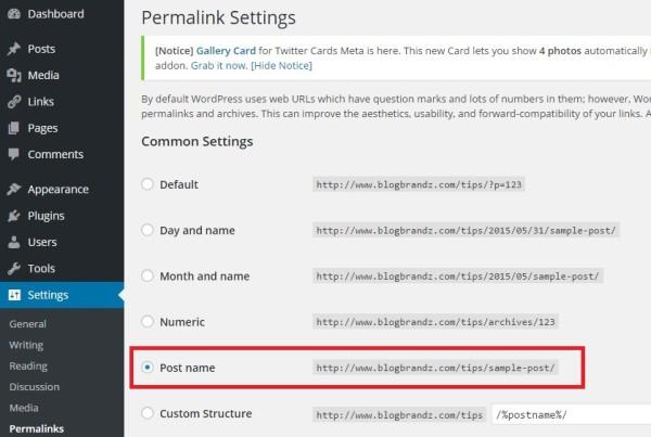Wordpress-Permalinks-Optimized