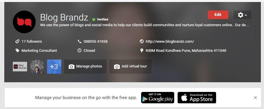 BlogBrandz Business Listing