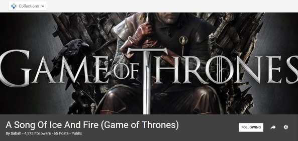 Game of Thrones collections