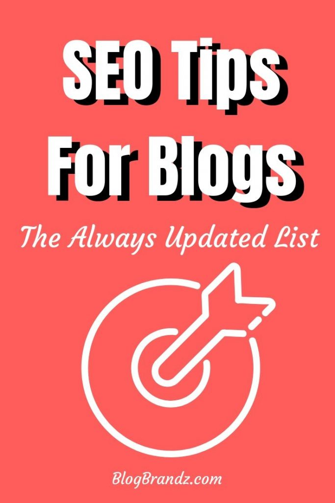 Search Engine Optimization (SEO) Tips For Bloggers